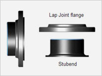 Alloy Steel, Carbon Steel Lap Joint Flange