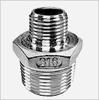 SS 316/304 IC Fittings - Reducing Hex Nipple - Cast iron Pipe Fittings