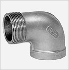 Threaded SS 304 IC Fitting - 90° Street Elbow - Cast Iron fittings