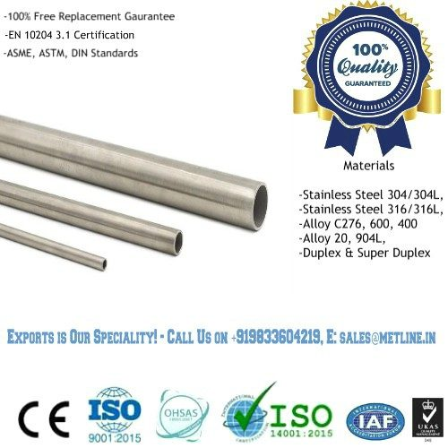 Stainless Steel Tubing Manufacturers, Suppliers, Exporters