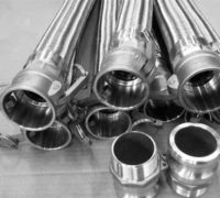 Stainless Steel Flexible Bellow Hoses with Camlock Couplings Manufacturers, Suppliers, Factory