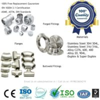 Stainless Steel Pipe Fittings Manufacturers, Suppliers, Factory
