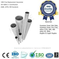 Stainless Steel Seamless Pipes Manufacturers, Suppliers, Factory