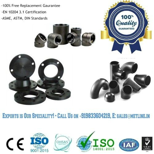 Steel Pipe Fittings Manufacturers, Suppliers, Factory in India