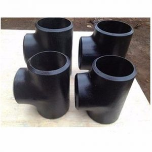 Alloy Steel A234 WP1 Equal Tee Pipes Dealers in India
