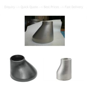 Eccentric Reducer Pipes Manufacturers and Exporter in India